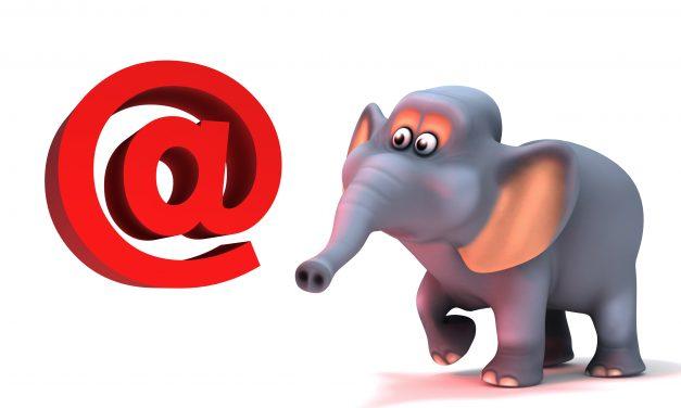 AVG – Pas op voor de olifant door je e-mail relatiebestand